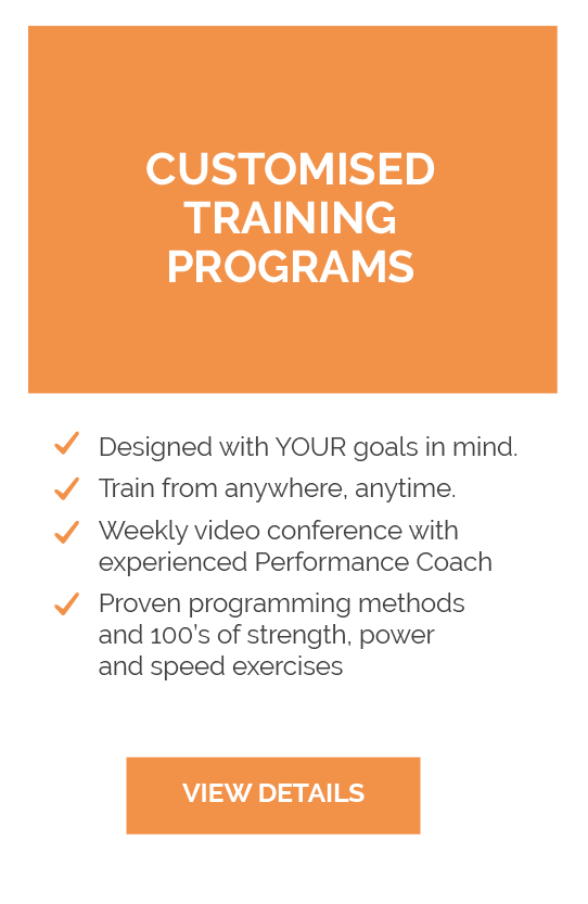 Customised Training Programs