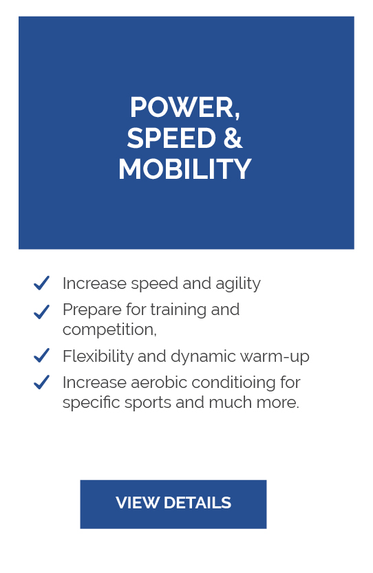 Power, Speed & Mobility
